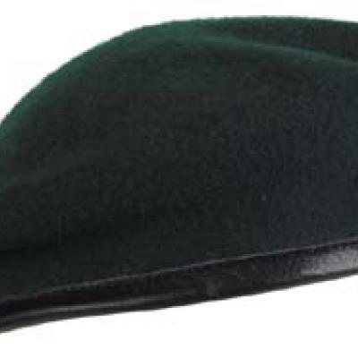 Barett sapka (zöld)