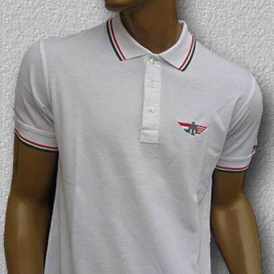 TURUL galléros póló (fehér)