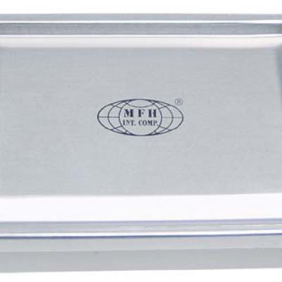 Tároló doboz, alumínium, vízálló (ezüst)