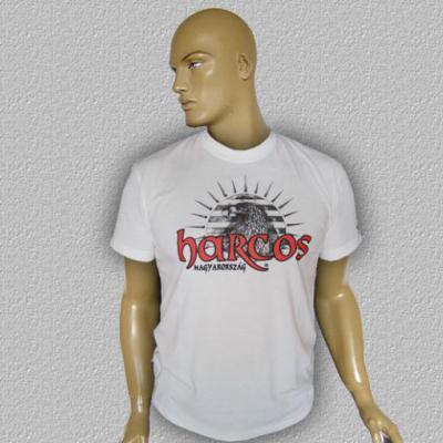 HARCOS-TURUL póló (fehér)