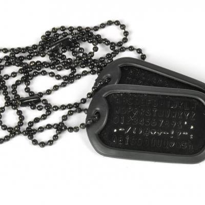 USA Dögcédula (fekete színű)