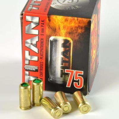 Perfecta Titan 9mm riasztó lőszer (szekrénytáras)