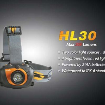 Fenix HL30 fejlámpa