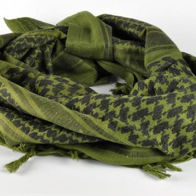 Arab kendő /SHEMAGH/ (zöld-fekete)