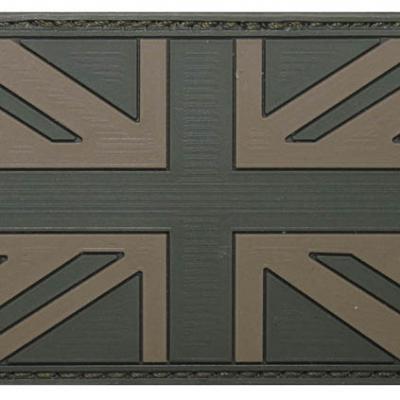 Brit patch (zöld)