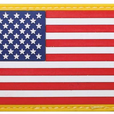 USA patch (színes)
