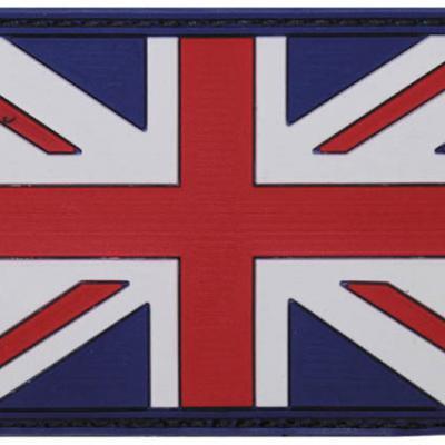 Brit patch (színes)