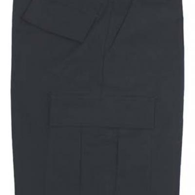 BDU Rip-stop short (fekete)