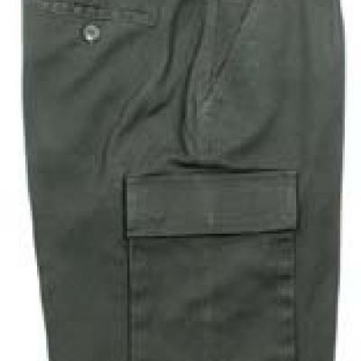 BW Moleszkin short (zöld, kőmosott)