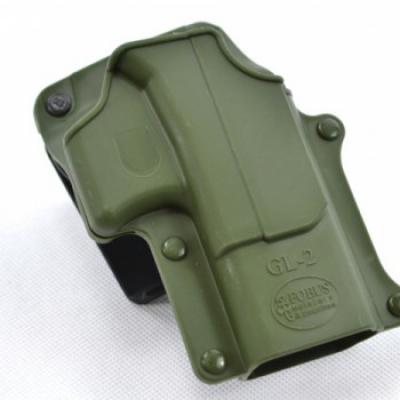 Fobus GL-2G RT / Glock 19/17 (zöld)