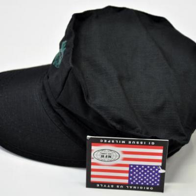 US tengerészgyalogos sapka (fekete)