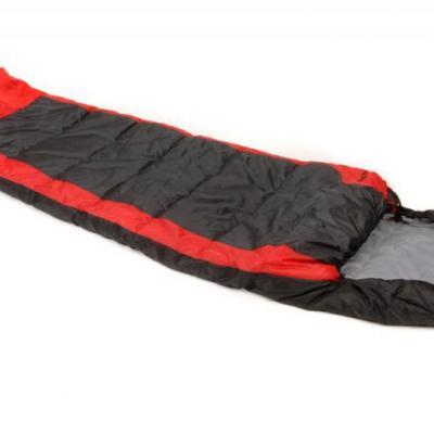 Snugpak The Sleeping Bag hálózsák (fekete/piros)