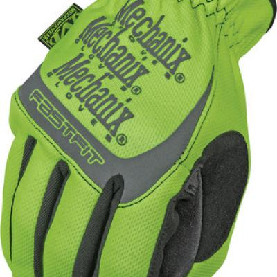 Mechanix Safety Fastfit kesztyű (citromsárga)