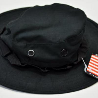 US trópusi kalap (fekete)