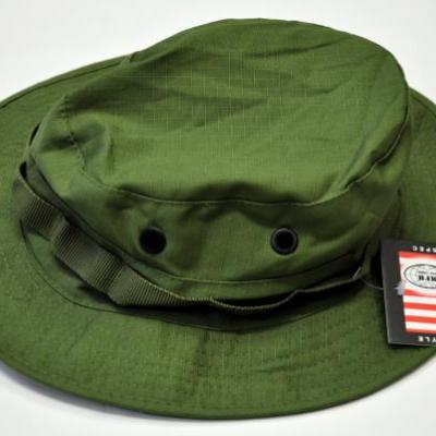 US trópusi kalap (zöld)