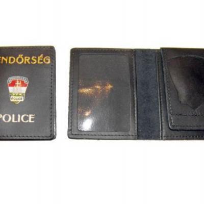 Rendőrségi (kívül jelvényes,függőleges lepkével) kicsi igazolványtok